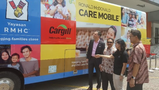 Cargill Donasikan RP 1,3 milyar Untuk Program Imunisasi