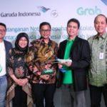 Garuda Indonesia Gandeng Grab