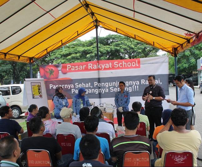 Sinar Mas Land Gelar Pasar Rakyat School