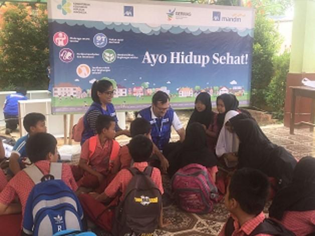 AXA-Kemenkes Gelar Acara Bareng di Tangerang