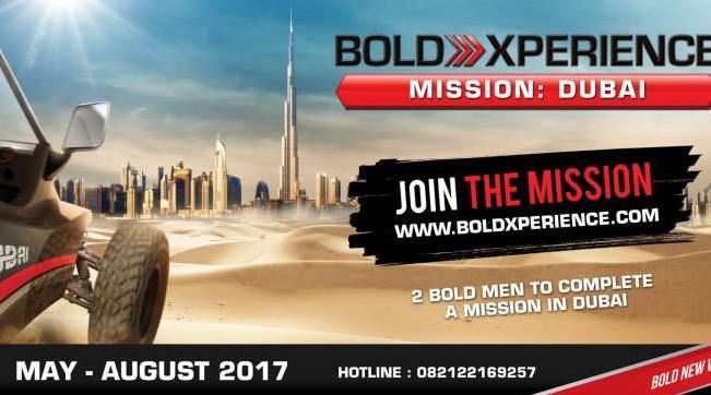 Dua Pemenang BOLD XPERIENCE Akan Tampil di Dubai