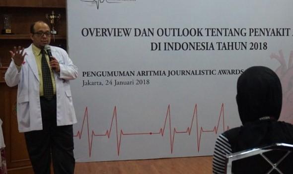 Pemerataan pelayanan Aritmia di Indonesia masih perlu ditingkatkan