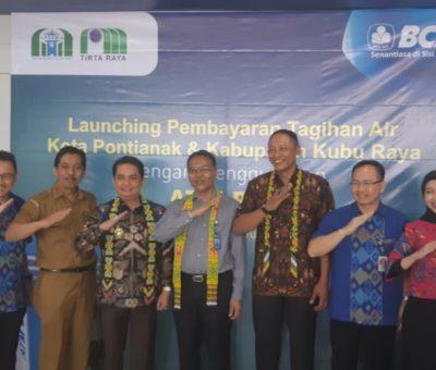 Kerjasama BCA dengan PDAM Kota Pontianak dan Kabupaten Kubu Raya