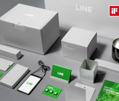 Line Raih Penghargaan Di bidang Desain
