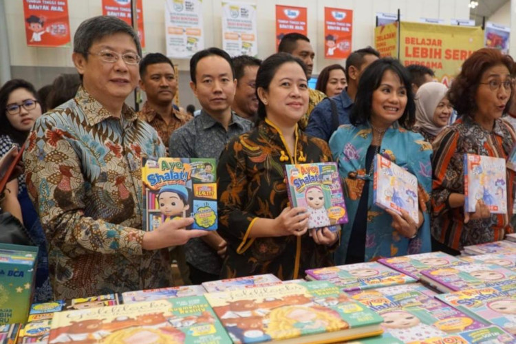 Bazar Buku Big bad Wolf di ICE BSD City (