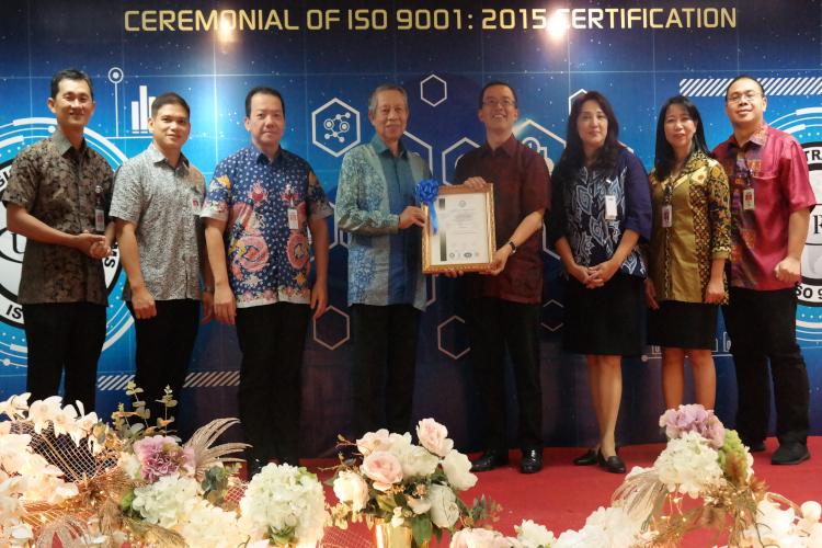 BCA dapat sertifikat ISO