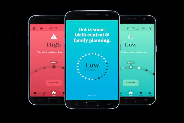 Aplikasi Dot cegah kehamilan