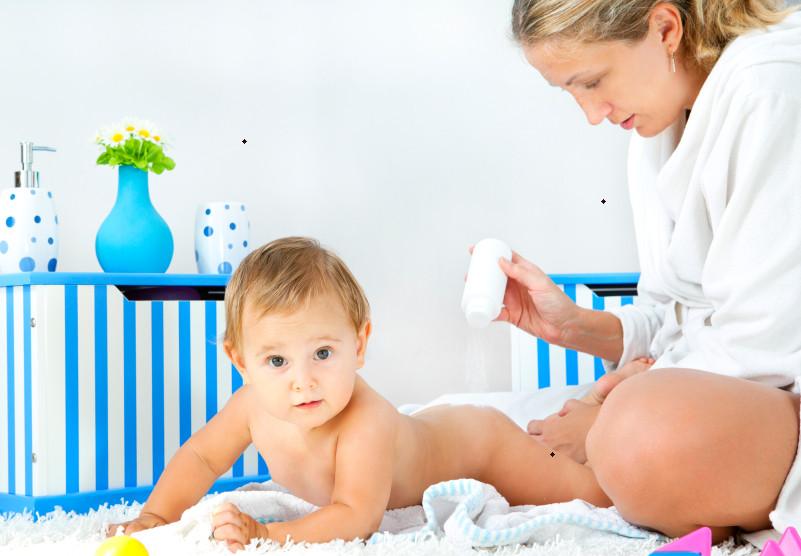 Bedak tabur berbahaya bagi pernapasan bayi