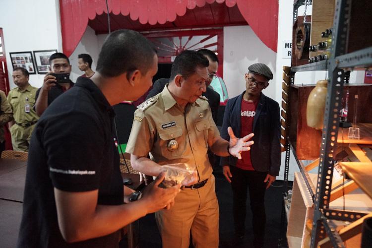 Wakil Bupati Blitar Resmikan Kampung Wirausaha Online