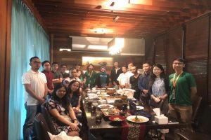 Pertemuan petani dan pemodal Crowde