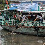 Aquafarm Gelar Program Bersih-bersih Danau Toba