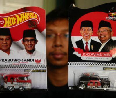 Jokowi-Ma'ruf dan Prabowo-Sandi