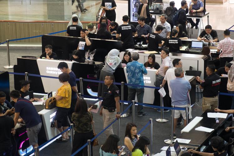 Penjualan Samsung Galaxy S10