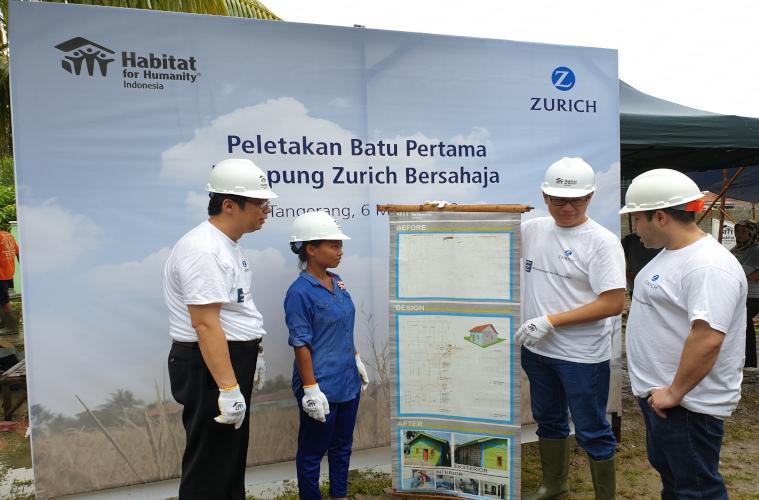 Pembangunan Kampung Zurich Bersahaja