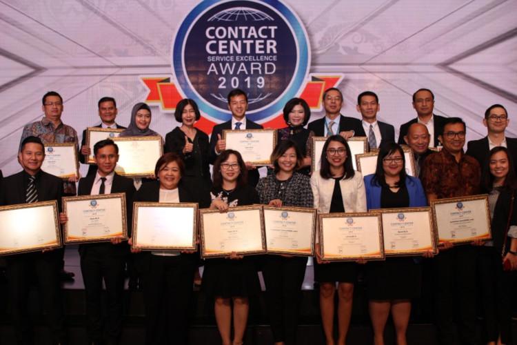 BCA dapat Contact Center Award 2019