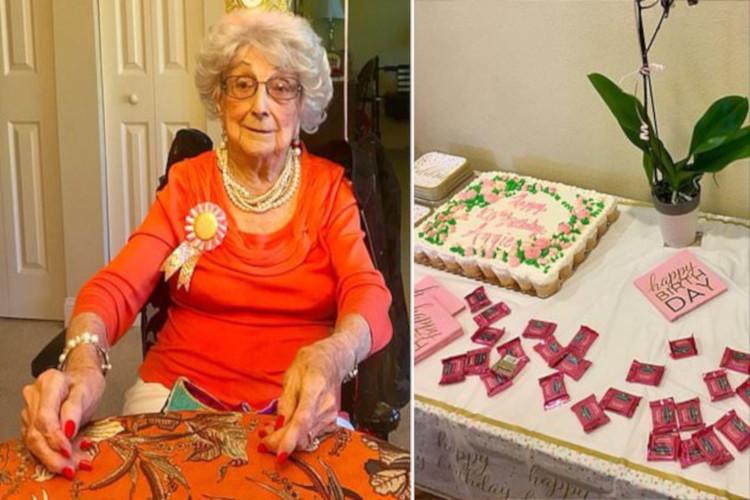 Annie Wilson berusia 108 tahun