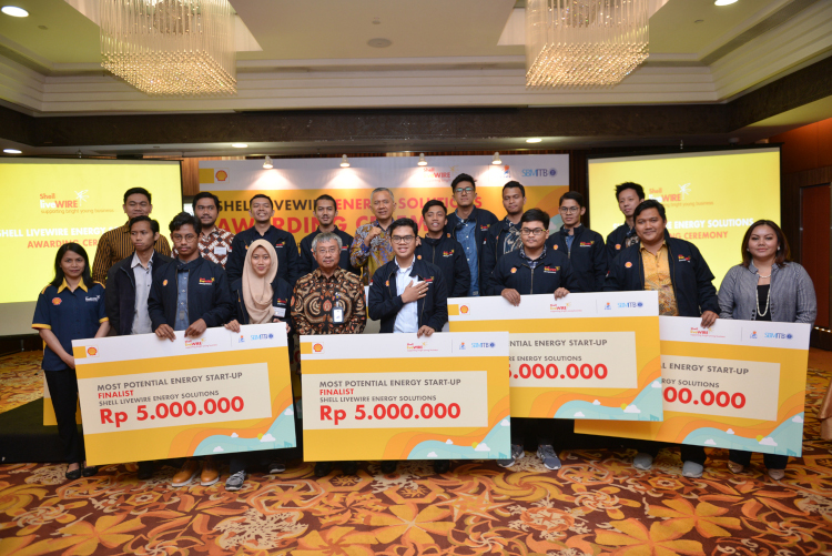 Pemenang Shell LiveWIRE Energy Solution