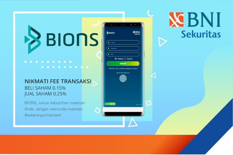 BIONS aplikasi baru BNI Sekuritas