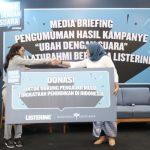 Listerine-PDGI Umumkan Hasil Kampanye Sosialnya