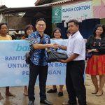 BCA Salurkan Bantuan Korban Banjir di Pekalongan
