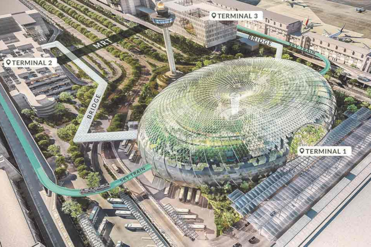 Fasilitas Baru di Bandara Changi
