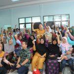 Direksi BPJS Kesehatan Sambangi Perkampungan