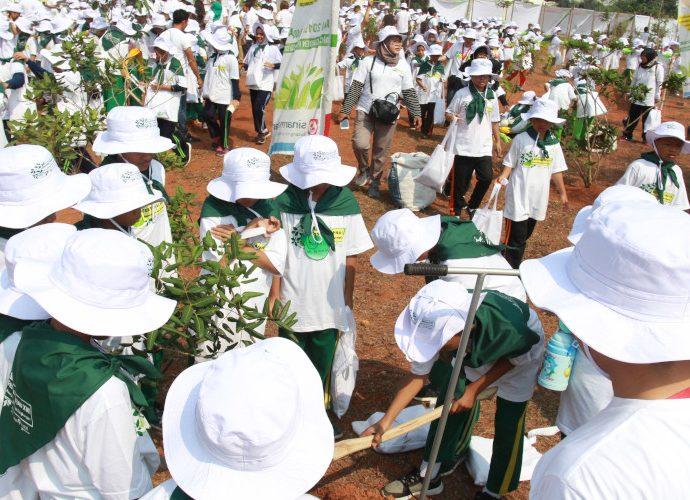600 pelajar Ramaikan festival hijau