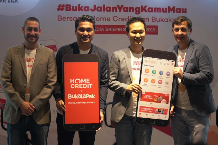 Home Credit-Bukalapak kerjasama pembiayaan kredit