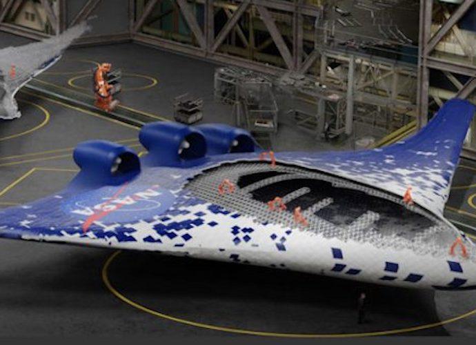 Teknologi baru sayap pesawat NASA