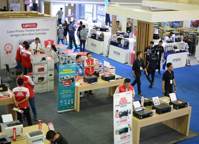 Pameran Indocomtech 2018