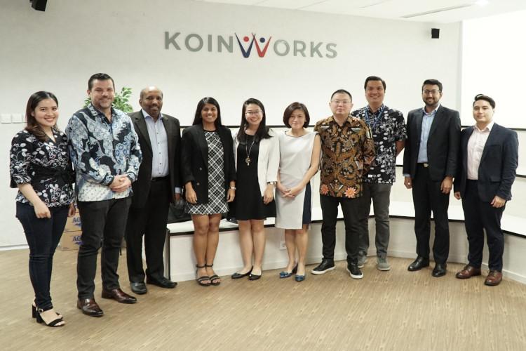 Kunjungan pejabat Singapura ke Koinworks