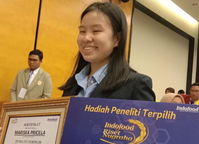 Mariska Pricilla pemenang IRN