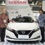 Nissan Hadirkan Nissan LEAF di Pameran Mobil Listrik
