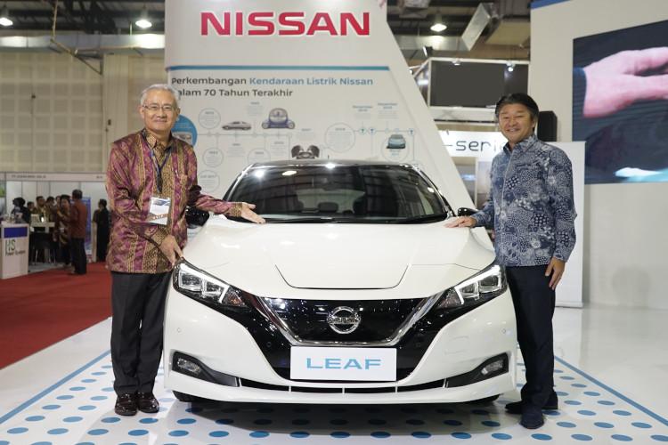 Nissan LEAF di IEMS