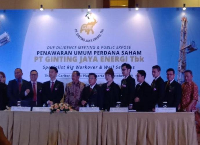 Public Expose PT Ginting Jaya Energi