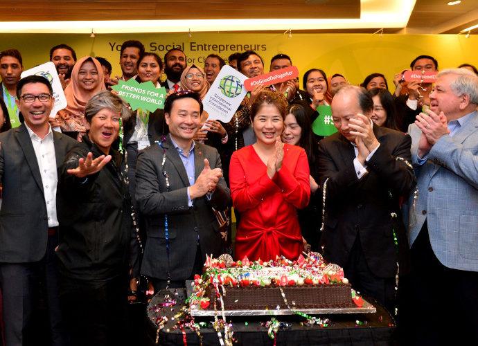 Penghargaan Youn Social enterpreneurship