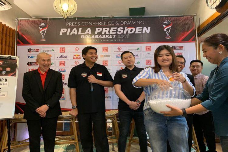 Aice sponsori Kompetisi Bola Basket Piala Presiden 2019