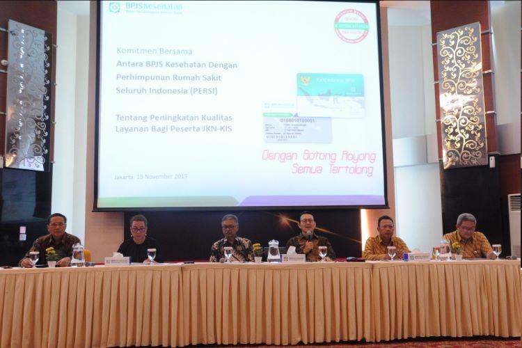 Kesepakatan BPJS Kesehatan-PERSI