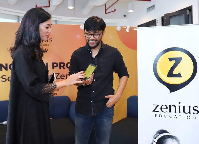 Zenius Edcuation buka akses video pembelajaran