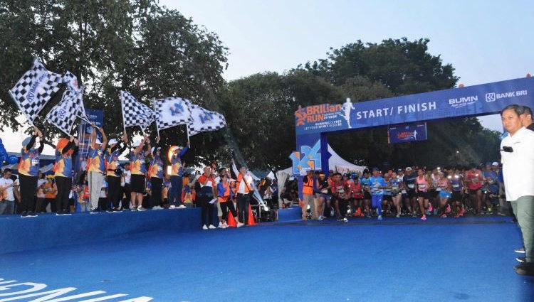 Lomba Lari Gratis BRIlian RUn 2019