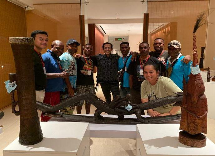 Mendikbud hadir dalam pameran seni Ukir Suku Kamoro