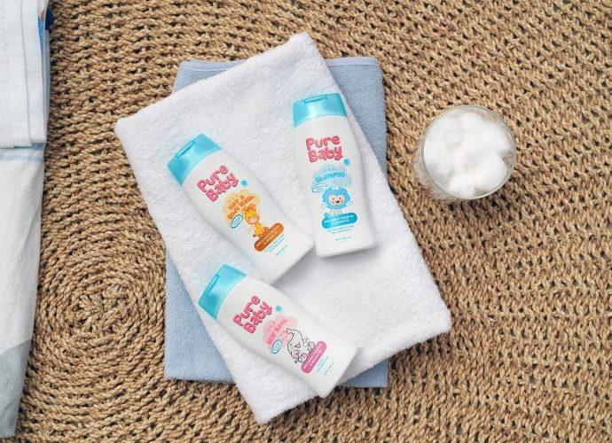 Pure Baby bedak bayi untuk kulit yang sensitif