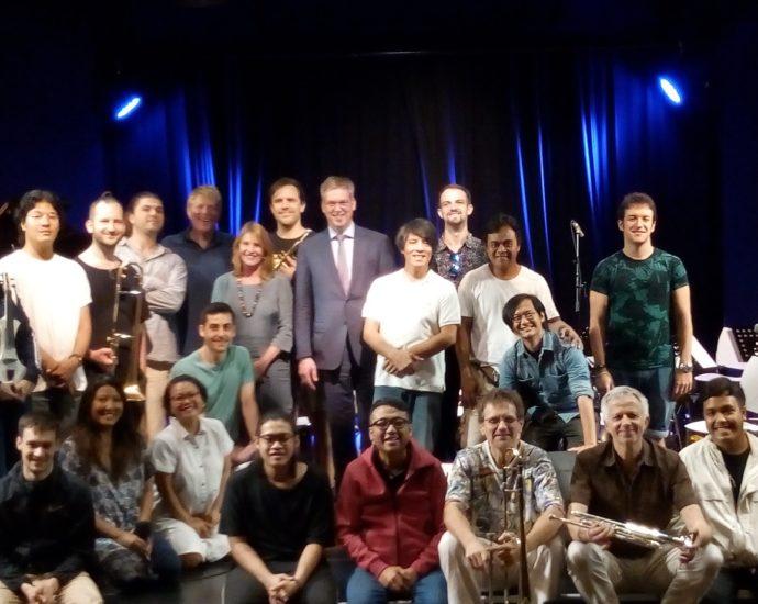 Perpaduan musisisi Indonesia-Eropa di Java Jazz