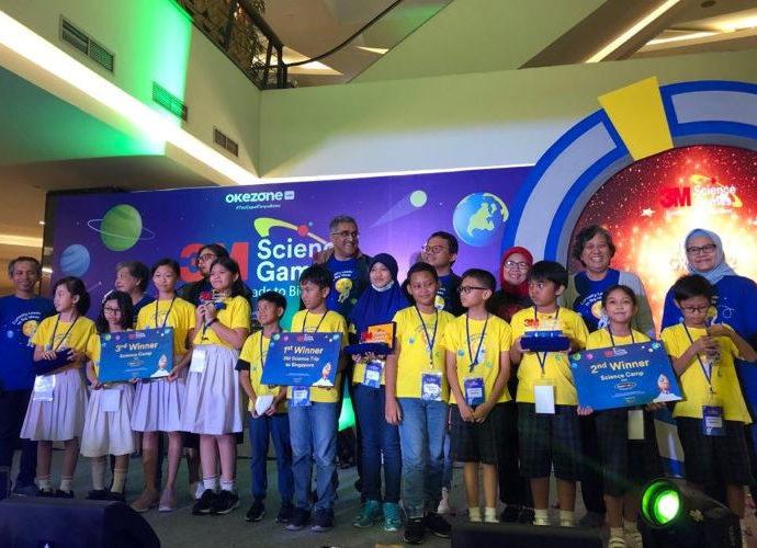 3M gelar Science games untuk pelajar SD