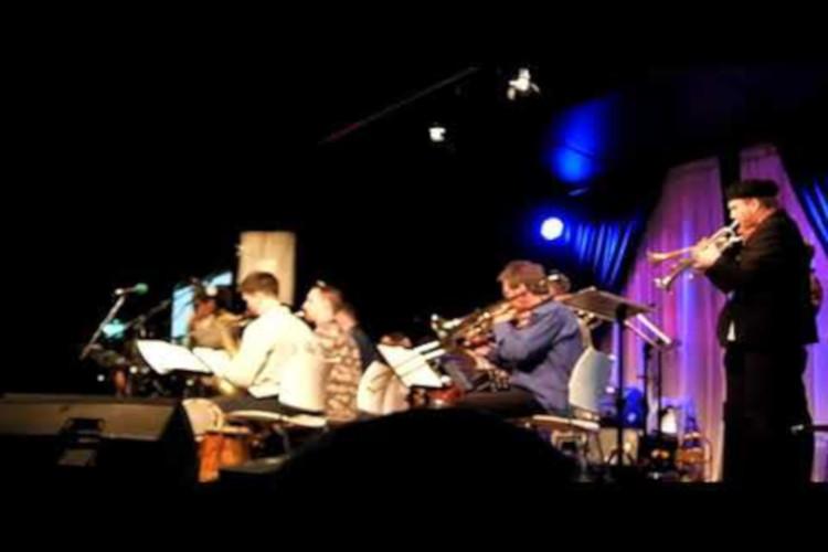 Penampilan NusantEro Big Band di Java Jazz