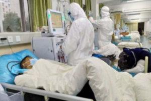 Penanganan pasien corona