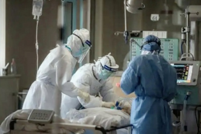PAsien COVID-19 di Rumah Sakit