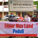 Sinar Mas Land Beri Bantuan Warga Terdampak Covid-19