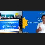 AAJI Beri Donasi Rp 1 M ke RS Rujukan Lewat Yayasan Milik Andi F Noya