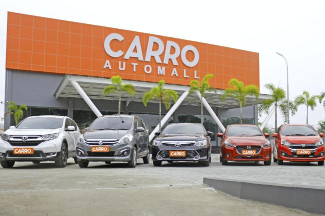 Jual beli mobil bekas Carro
